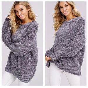 Super Soft Chenille Sweater